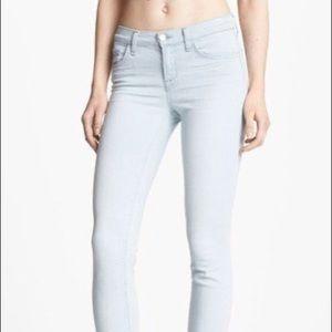 J Brand Solana Capri light wash jeans